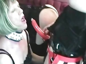 3 Crossdressers and a Mistress
