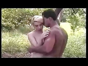 Super Sexy Pale Blond Gurl Fucks BF Outdoors (classic 2003)