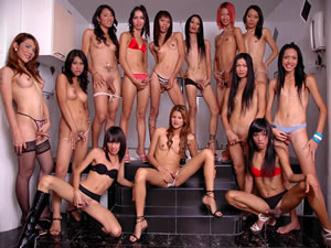 Group Asian shemale bukkake - xxx fetish tube